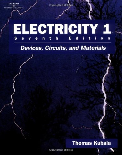 9780766819177: Electricity 1: Devices, Circuits and Materials (v. 1)