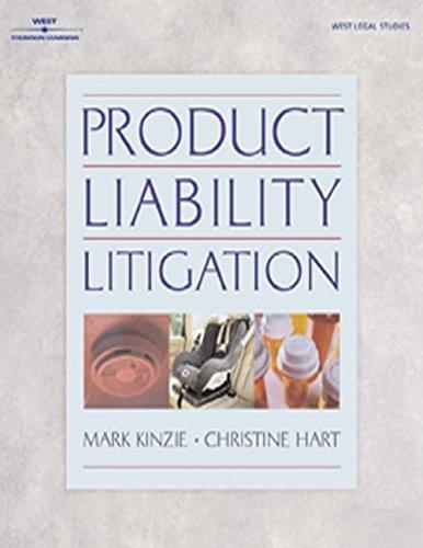 9780766820357: Product Liability Litigation