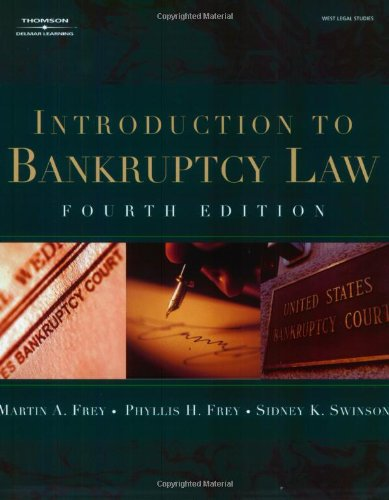 9780766820364: Introduction to Bankruptcy Law (West Legal Studies Series)