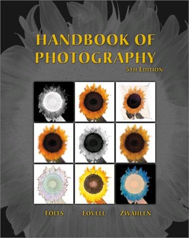 9780766820739: Handbook of Photography