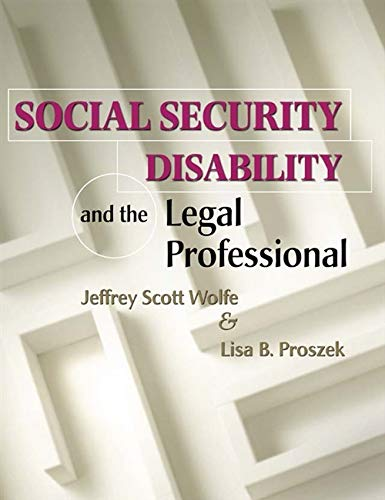 9780766821156: Social Security Disability and the Legal Professional