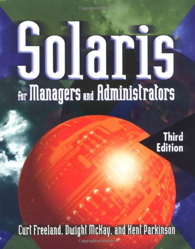 9780766821378: Solaris 8 for Managers and Administrators