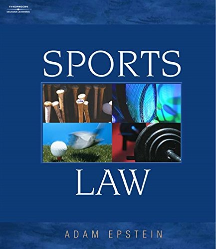 Sports Law 9780766823242 This text introduces and builds upon the relationship between law and sports for undergraduate students and persons who may not have a background in law. Unlike other sports law texts, it focuses on teaching the fundamentals and provides real-world insights rather than offering cases with little substance. The book is well-organized and helps students not only understand the legal issues facing many players in the sports industry, but how to pursue involvement as a professional. With numerous Web sites and other references, students can conduct further research in specific areas. Many recent cases are also presented to help students discern the latest judicial analyses in this fascinating study of sports law.