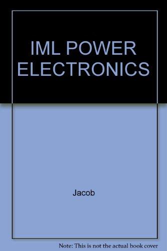 9780766823334: IML POWER ELECTRONICS
