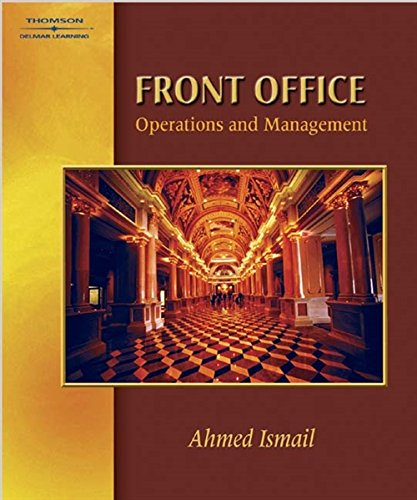 Stock image for Front Office Operations & Management for sale by SecondSale
