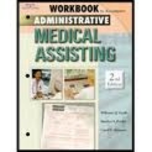 9780766824256: Workbook to Accompany Delmar's Administrative Medical Assisting