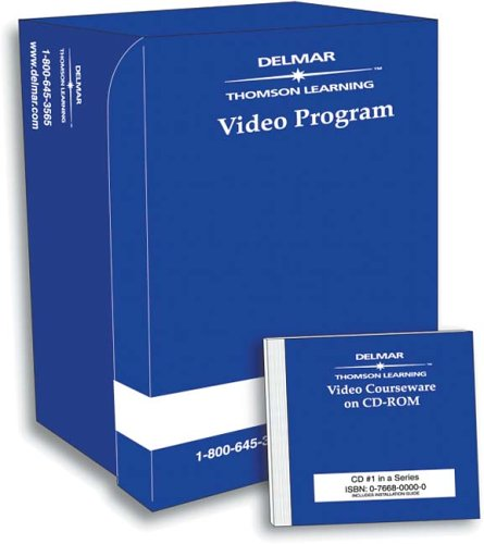 9780766824973: Delmar's Automotive ASE Test Prep Video Series: Set #3 - Set of 4 Tapes