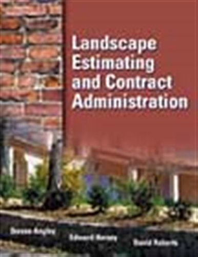 9780766825734: Landscape Estimating and Contract Administration