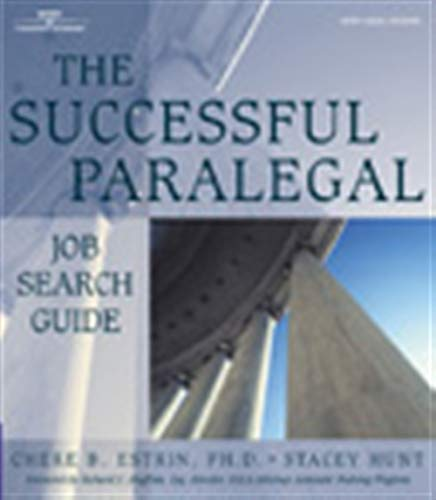 9780766830257: The Successful Paralegal Job Search Guide