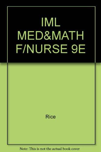 9780766830813: Medications & Mathematics for the Nurse