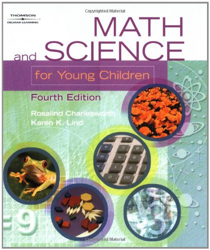 9780766832275: Math & Science for Young Children, 4th Edition