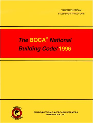 9780766832640: 1996 National Building Code