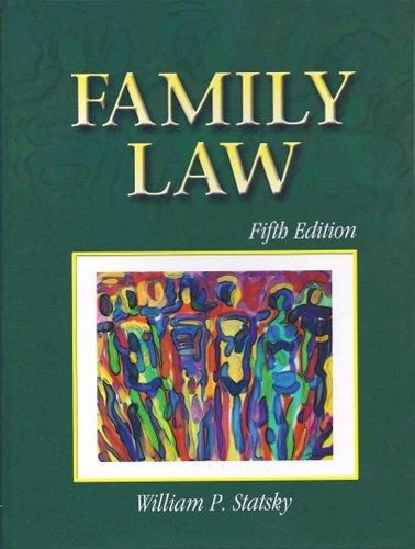 9780766833586: FAMILY LAW 5E