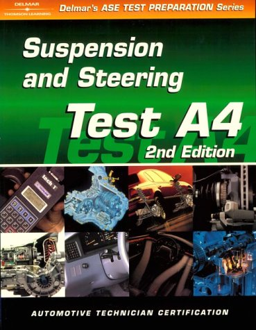 9780766834279: Automible Test (DELMAR LEARNING'S ASE TEST PREP SERIES)