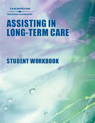 9780766834804: Workbook to Accompany Assisting In Long-Term Care