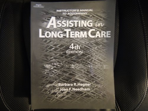 9780766834811: Assisting in Long-Term Care