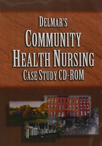 9780766834996: Delmar's Community Health Nursing Case Study CD-ROM