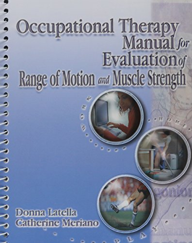 9780766836273: Occupational Therapy Manual for the Evaluation of Range of Motion and Muscle Strength