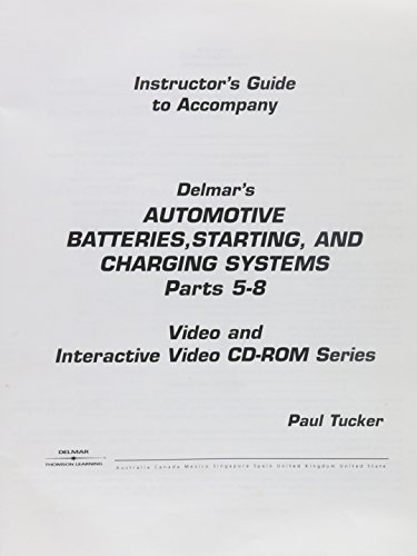 9780766841239: Batteries Vs Set 2 Automotive Starting Systems [Alemania] [VHS]