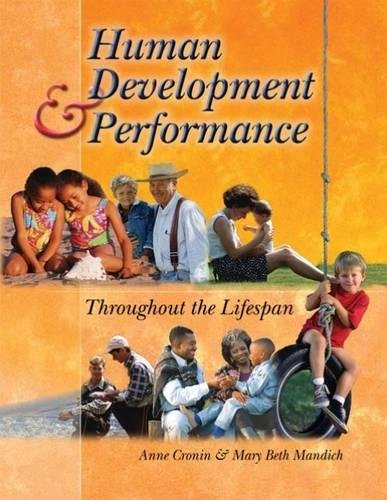 Human Development and Performance Throughout the Lifespan: Anne Cronin, Mary