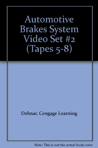Automotive Brakes System Video Set #2 (Tapes 5-8) (9780766843134) by Cengage Learning Delmar
