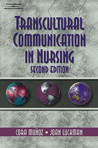9780766848771: Transcultural Communication In Nursing (Communication and Human Behavior for Health Science)