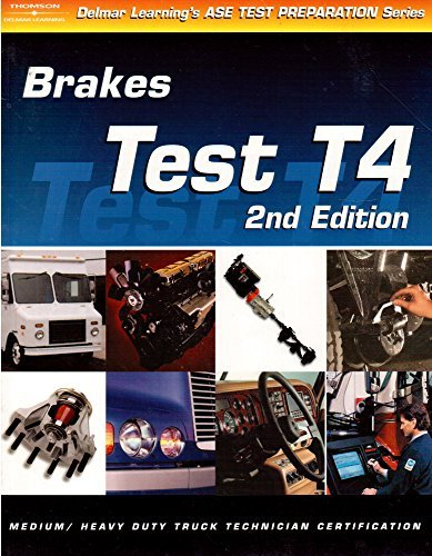 9780766848948: ASE Test Prep: Medium/Heavy Duty Truck: T4 Brakes (Delmar's Test Preparation Series)
