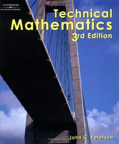 9780766861886: Technical Mathematics, 3E
