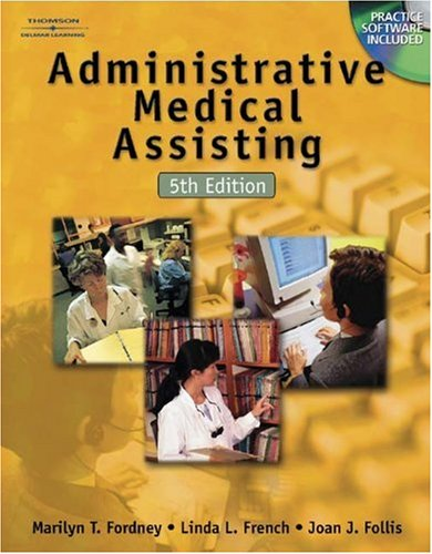 9780766862517: Workbook to Accompany Administrative Medical Assisting 5E