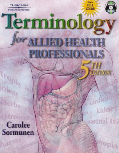 9780766862920: Terminology for Allied Health Professionals