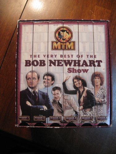 9780767001311: The Very Best of the Bob Newhart Show [6 VHS Boxed Set]