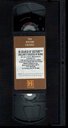 9780767014298: England's Theatres of Blood [VHS]