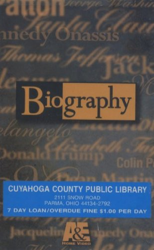 9780767017503: Biography:Tony Randall [VHS]