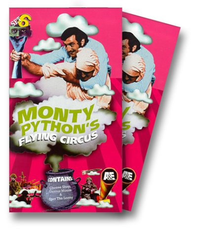 9780767025904: Monty Python's Flying Circus - Set 6 (Epi. 33-39) [VHS]