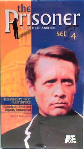 9780767033886: The Prisoner - Set 4: A Change of Mind/Hammer Into Anvil/Do Not Foresake Me Oh My Darling/Living in Harmony (Bonus) [VHS]