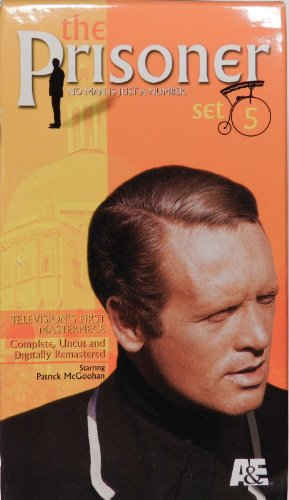 9780767033923: The Prisoner - Set 5: The Girl Who Was Death/Once Upon a Time/Fall Out [VHS]