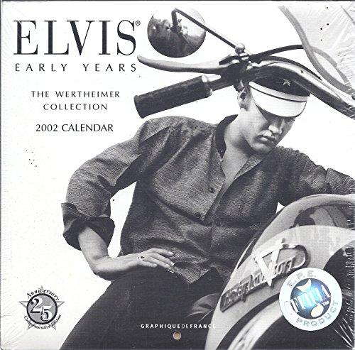9780767111423 Elvis Early Years 2002 Calendar