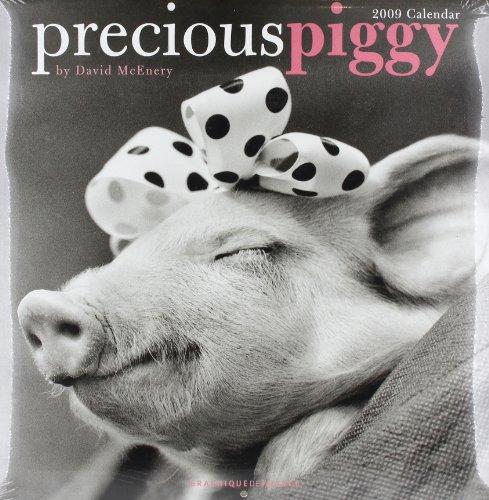 9780767150583: Precious Piggy 2009 Calendar