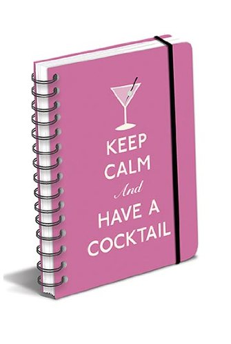 9780767189736: Keep Calm and Have a Cocktail Polypro Journal