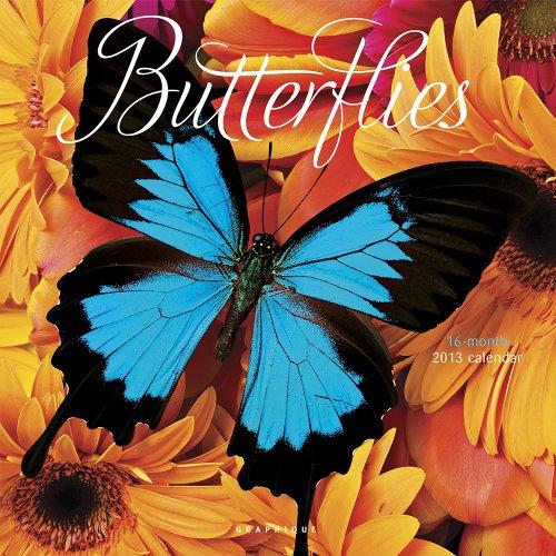 9780767191296: Butterflies 2013 Calendar