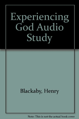 Experiencing God Audio Study (0767319273) by Henry Blackaby