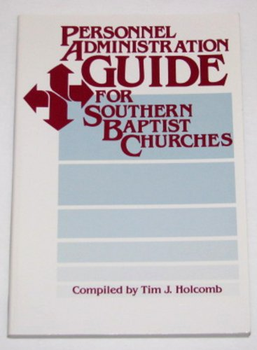 9780767320559: Personnel Administration Guide for Southern Baptist Churches