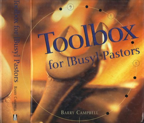 9780767391245: Toolbox for Busy Pastors