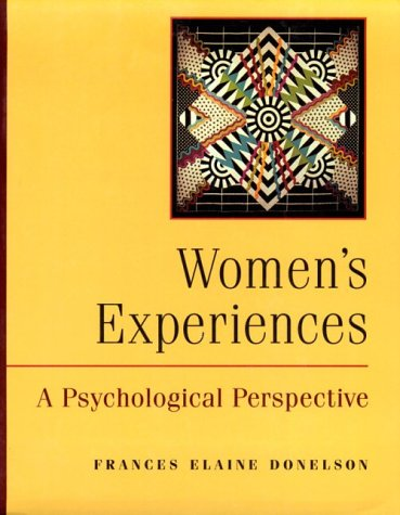 9780767400435: Women's Experiences: A Psychological Perspective