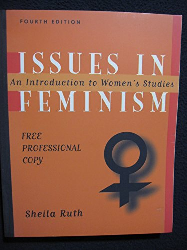 9780767400657: Issues in Feminism Fourth Edition Paperback
