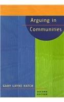 Arguing In Communities: Gary Hatch