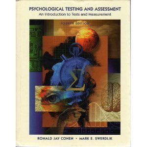 9780767405096: Psychological Testing and Assessment: An Introduction to Tests and Measurement