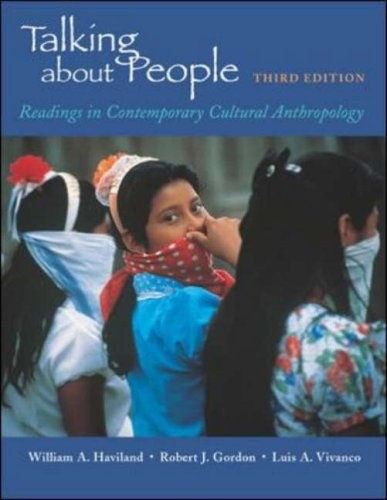 9780767405133: Talking about People: Readings in Cultural Anthropology