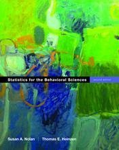 9780767410649: Statistics for the Behavioral Sciences