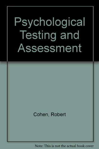 9780767411004: Psychological Testing and Assessment